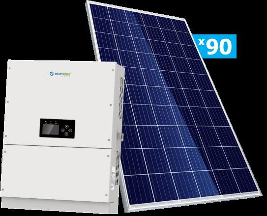 Солнечная электростанция Trannergy 25 кВт