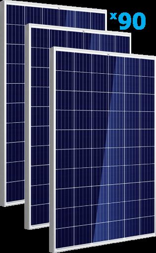 солнечные панели 90 штуки