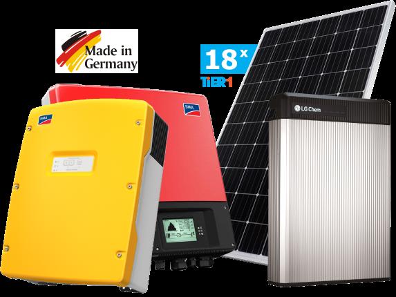 Солнечная гибридная электростанция SMA 6 кВт