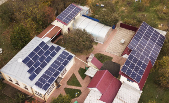 Мережева сонячна електростанція 30 кВт