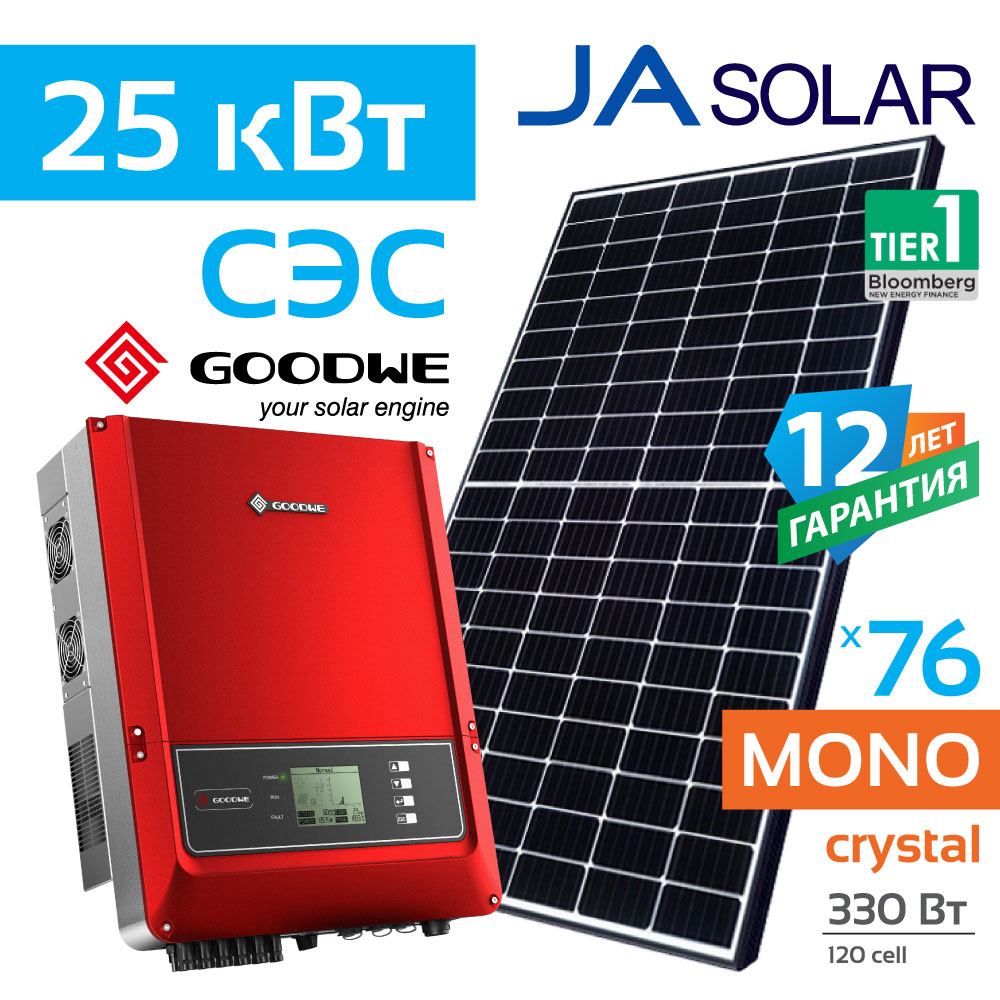 GoodWe_JaSolar_330_25kWt