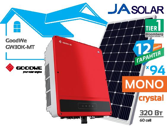 Сонячна електростанція GoodWe 30 кВт
