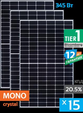 солнечные панели 15 штук