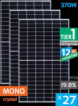 сонячні панелі 27 штук