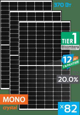 солнечные монокристаллические панели 28 штуки