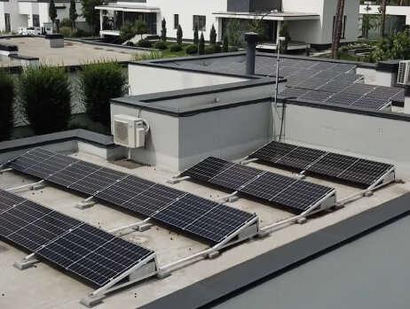 Автономная солнечная станция 8 кВт